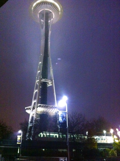 Space Needle and Monorail