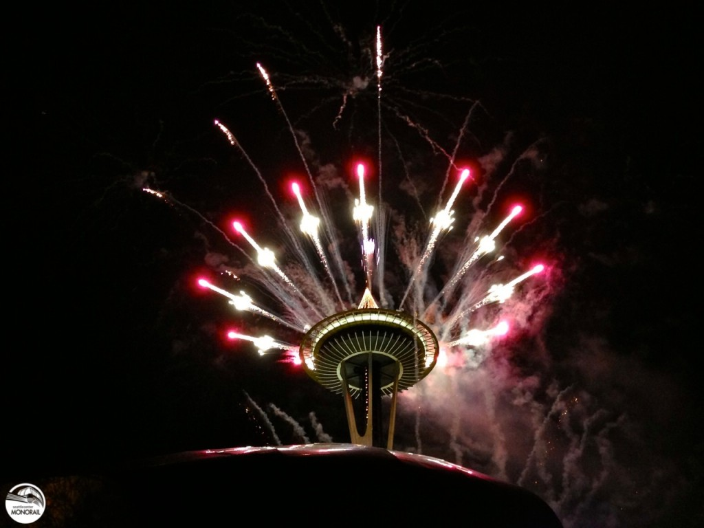 Space Needle New Year's Eve