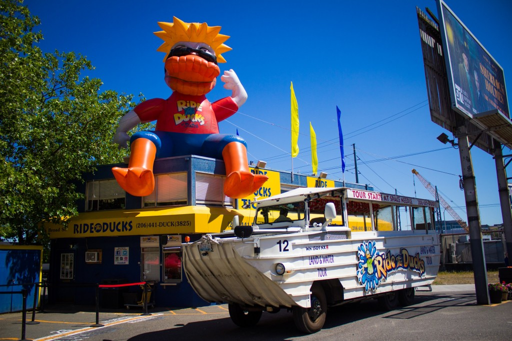 Holiday Duck Boat Tour Seattle